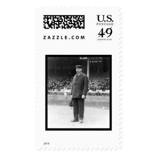 Béisbol 1914 de Bill Klem del árbitro Sello