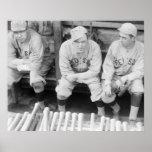 Béisbol 1916 de Boston Poster