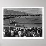 Béisbol 1943 de Manzanar Ansel Adams Poster