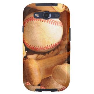 Béisbol 1 galaxy s3 fundas