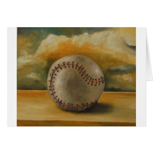 Béisbol [1] tarjeta de felicitación