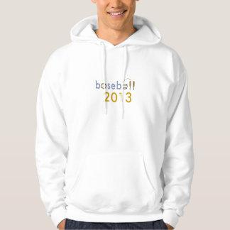 béisbol 2013 suéter con capucha