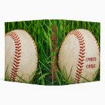 """Béisbol 2"""" carpeta de la tarjeta de deportes"""