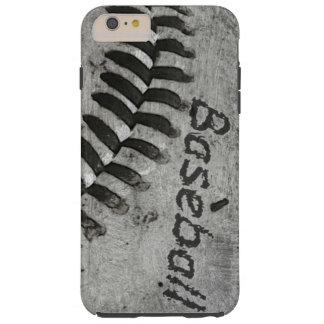 Béisbol 3 funda para iPhone 6 plus tough