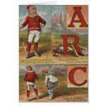 Béisbol ABC Tarjeta
