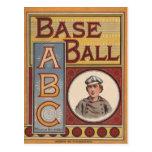 Béisbol ABCs Postal