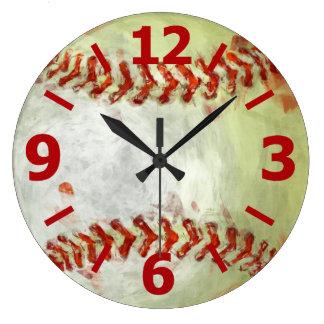 Béisbol abstracto relojes