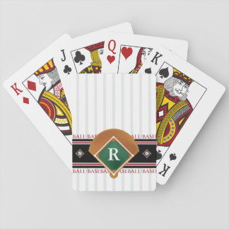 Béisbol adaptable baraja de cartas