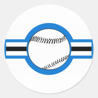 béisbol: airstar: pegatina redonda
