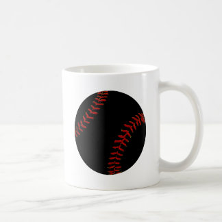 Béisbol americano dibujado dibujo animado taza