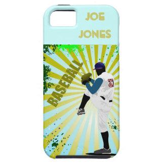 Béisbol americano iPhone 5 carcasas