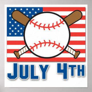 Béisbol americano poster