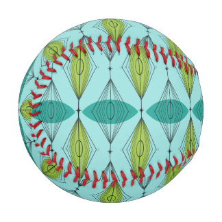 Béisbol atómico de Ogee y de Starbursts