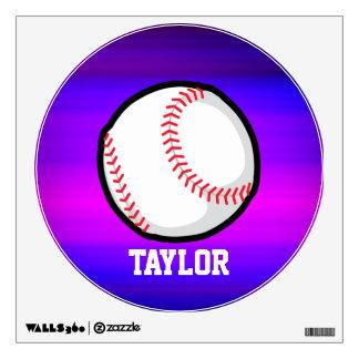 Béisbol, azul violeta del softball y magenta