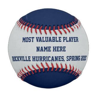 Béisbol azul y gris, premio del jugador de MVP