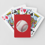 Béisbol - béisboles de la plantilla de los deporte baraja de cartas