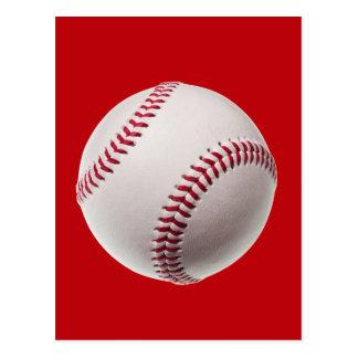 Béisbol - béisboles de la plantilla de los postal