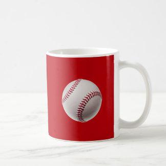 Béisbol - béisboles de la plantilla de los taza