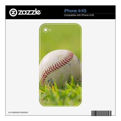 Béisbol Calcomanía Para iPhone 4