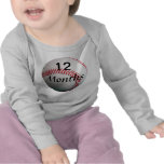 Béisbol camisa del bebé de 12 meses para las imáge