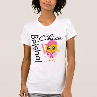 Béisbol Chica Tee Shirts