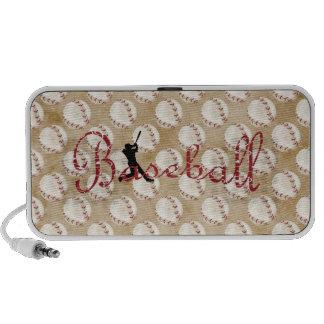Béisbol clásico mini altavoz