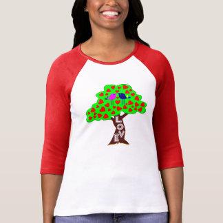 °•béisbol clásico ♥Romantic T♥ de Bella del árbol  Camisetas