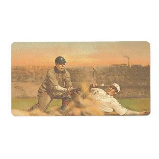 Béisbol clásico SUPERIOR Etiquetas De Envío