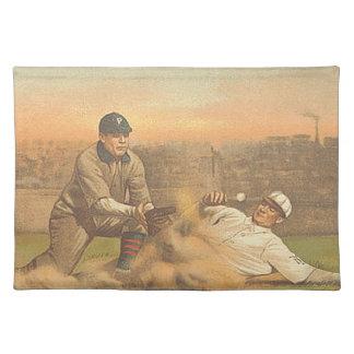 Béisbol clásico SUPERIOR Mantel Individual