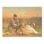 Béisbol clásico SUPERIOR Postal