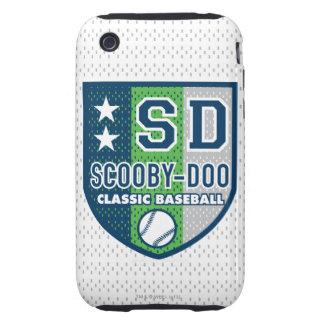 Béisbol clásico tough iPhone 3 fundas