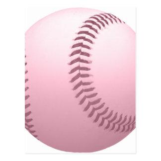 Béisbol coloreado tarjeta postal