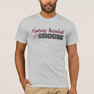 Béisbol Commish de la fantasía Playera