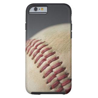 Béisbol con la marca del impacto funda de iPhone 6 tough
