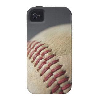 Béisbol con la marca del impacto Case-Mate iPhone 4 fundas