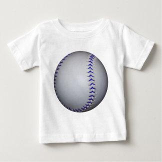 Béisbol con las puntadas azules remeras