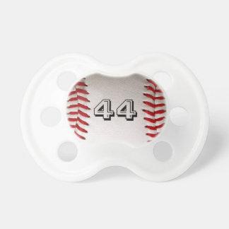 Béisbol con número adaptable chupetes para bebes