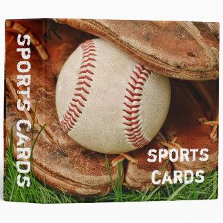 """Béisbol con un mitón viejo 2"""" carpeta de las"""