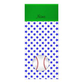 Béisbol conocido personalizado de las estrellas tarjetas publicitarias personalizadas
