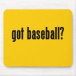 ¿béisbol conseguido? tapete de ratones