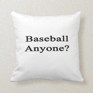 Béisbol cualquier persona
