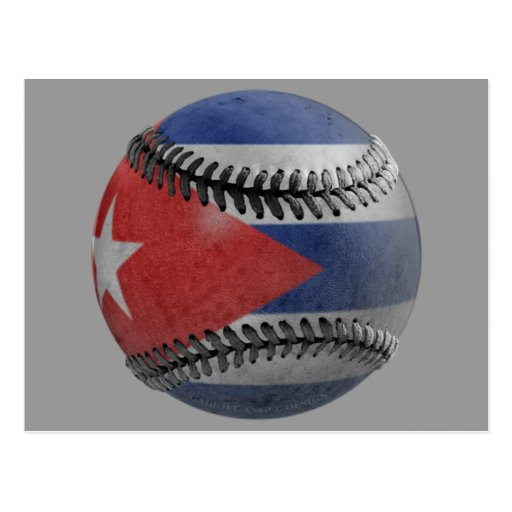 Béisbol cubano postal