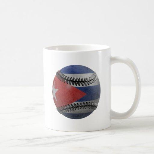 Béisbol cubano tazas