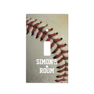 Béisbol Cubierta Para Interruptor
