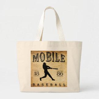 Béisbol de Alabama de 1886 móviles Bolsa