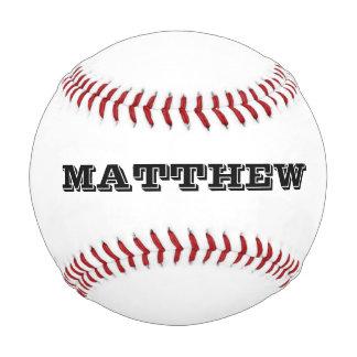 Béisbol de encargo con nombre o lema