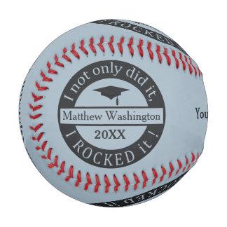 Béisbol de encargo del nombre y del año de la