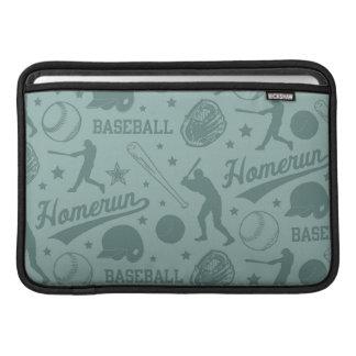 Béisbol de Homerun Fundas Macbook Air
