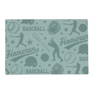 Béisbol de Homerun Tapete Individual
