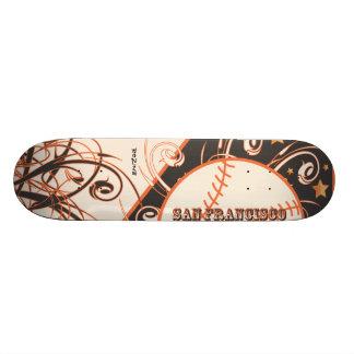 Béisbol de la área de la Bahía de San Francisco de Skate Board